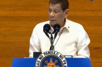 President Rodrigo Duterte delivers his fifth State of the Nation Address (SONA) on Monday, July 27, 2020.