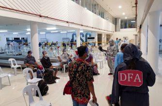 The government recently repatriated 51 Filipinos from Manado, Indonesia, the DFA said./DFA/