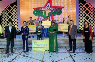 NET 25's TAGISAN NG GALING Grand Finals: Winners bring home over 4M in cash prizes