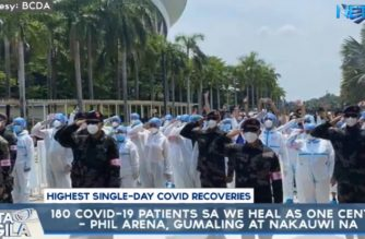 "PHL Arena records new biggest single-day number of recoveries released from a ""We Heal as One Center"""