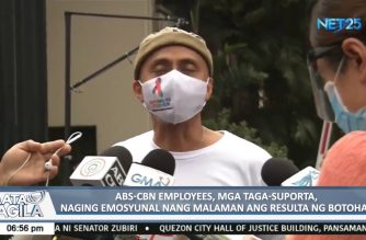 ABS CBN actors, workers stage indignation rally during House voting on franchise rejection