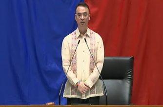 "Cayetano: PHL facing ""unprecedented crisis"" as he opens 2nd regular session prior to Pres. Duterte's SONA"