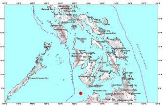 4.8-magnitude quake strikes off Zamboanga del Norte