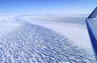 "This NASA handout photo obtained March 29, 2020 shows  ripples in the surface of Denman Glacier in East Antarctica that throw shadows against the ice. - The glacier is melting at a faster rate now than it was from 2003 to 2008. The glacier retreated 3.4 miles (5.4 kilometers) from 1996 to 2018, according to a new study by scientists at NASA's Jet Propulsion Laboratory and the University of California, Irvine. (Photo by Handout / NASA / AFP) / RESTRICTED TO EDITORIAL USE - MANDATORY CREDIT ""AFP PHOTO /NASA/HANDOUT "" - NO MARKETING - NO ADVERTISING CAMPAIGNS - DISTRIBUTED AS A SERVICE TO CLIENTS"