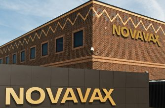 This April 28, 2009 photo shows Novavax, a Rockville, Maryland, company that in 2005 turned its attention to flu vaccines, is testing cell-based technologies to enable it to produce a flu vaccine in as little as three months, half as long as traditional flu vaccine makers, which use an egg-based process. Shortening the process is key, because flu can mutate rapidly. As concern spread about a swine flu virus outbreak, investors saw opportunity in shares of companies that make or hope to make anti-flu drugs, with Novavax shares leap 80 percent.     AFP PHOTO/Paul J. Richards (Photo by Paul J. RICHARDS / AFP)