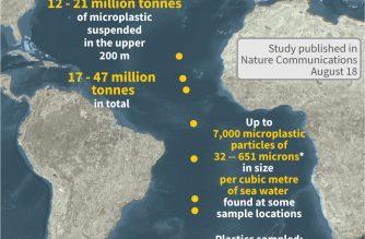 Atlantic plastic levels far higher than thought: study