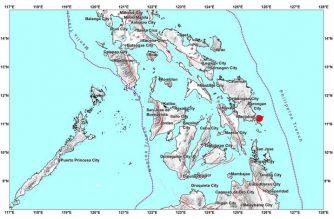 4.2-magnitude quake hits E. Samar early Saturday, Aug. 1