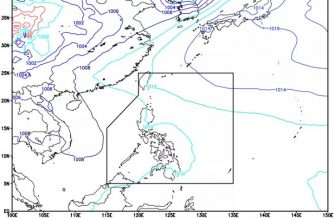 Cloudy skies, rainshowers expected in parts of PHL today, Aug. 6