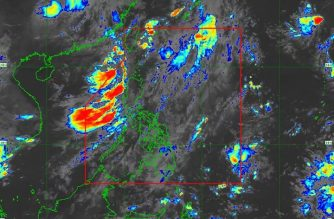 Rainfall advisory raised over parts of Pangasinan