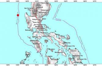 3.5-magnitude quake strikes off Pangasinan