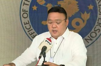 File photo: Presidential Spokesperson Harry Roque (Courtesy PCOO/ Screenshot of Aug. 7. Palace press briefing)