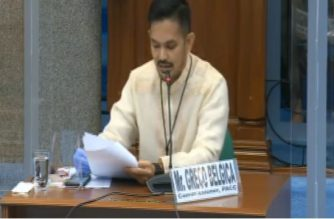 """PACC Greco Belgica on Tuesday, Aug. 11, said the P2 billion to P3 billion released by PhilHealth on a weekly basis were """"exposed to corruption.""""/Senate/"""