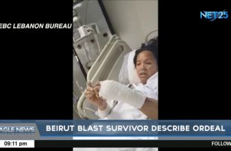 OFW who survives Beirut blasts describes ordeal