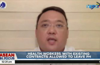 Palace: Health workers with contracts abroad as of March exempted from deployment ban, can leave PHL