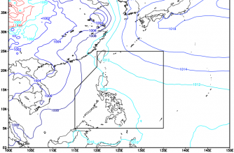 Cloudy skies expected in parts of PHL today