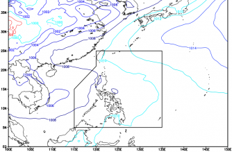 Cloudy skies, rainshowers expected in parts of PHL today
