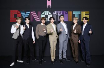 """This handout photo taken in Seoul on September 2, 2020 and provided by Big Hit Entertainment shows K-pop group BTS members posing for a photo as they hold an online global media day. - K-pop sensation BTS has become the first all-South Korean act to rule the top US singles chart, industry tracker Billboard announced on August 31, with their English-language """"Dynamite"""" hitting number one. (Photo by Handout / Big Hit Entertainment / AFP) / RESTRICTED TO EDITORIAL USE - MANDATORY CREDIT """"AFP PHOTO / Big Hit Entertainment"""" - NO MARKETING NO ADVERTISING CAMPAIGNS - DISTRIBUTED AS A SERVICE TO CLIENTS --- NO ARCHIVE ---"""