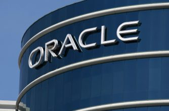 (FILES) In this file photo the Oracle logo is displayed on the company's world headquarters April 20, 2009 in Redwood Shores, California. - The US government has received a bid from Oracle for TikTok's American operations after the video sharing app's parent ByteDance rejected a proposal from Microsoft, Treasury Secretary Steven Mnuchin said on September 14, 2020. Mnuchin told CNBC his office received the proposal involving Oracle over the weekend and said the bid would be handled by a government panel that reviews foreign transactions for national security concerns. (Photo by JUSTIN SULLIVAN / GETTY IMAGES NORTH AMERICA / AFP)