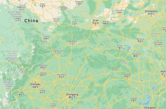 Screenshot of China as shown in Google map. (Courtesy Google map)
