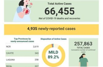 Over 4,000 additional COVID-19 cases push PHL tally to 257,863