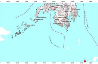 4.0-magnitude quake strikes off Davao Occidental early Wednesday, Sept. 16