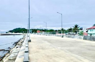Gov't unveils new road for better access to Calapan port