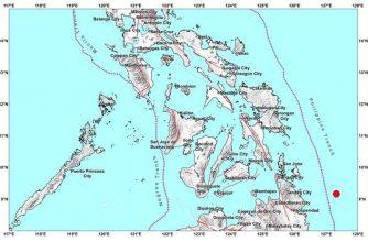 3.9-magnitude quake strikes off Surigao del Sur