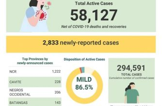 COVID-19 cases in PHL reach 294,591 with 2,833 more cases