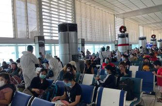 Over 300 Filipinos repatriated from Lebanon arrive