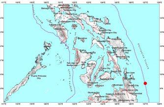 5.0-magnitude aftershock hits Surigao del Sur