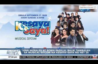 "EBC-NET 25 launches first-ever musical sitcom, ""Kesayasaya!"" as tribute to OFWs, Filipino families"