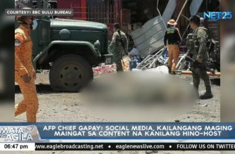 Gapay bares 4 AFP intel officers about to nab 2 female suicide bombers in Jolo when killed
