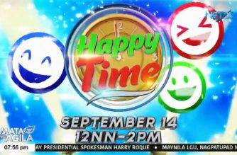 "NET 25's new noontime show ""Happy Time"" promises fun and surprises, as it gives hope amid pandemic"