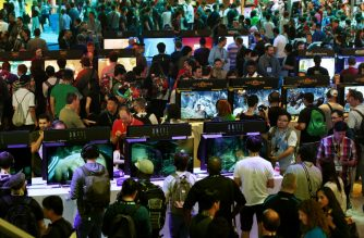 There is plenty of enthusiasm for video games, but with the impending launch of new consoles by Sony and Microsoft there is also the question if the machinery is not vulnerable to being disrupted by a shift to cloud-based gaming. (AFP)