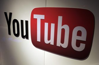 (FILES) In this file photo a picture shows a You Tube logo on December 4, 2012 during LeWeb Paris 2012 in Saint-Denis near Paris. a - YouTube said on October 14, 2020 it would take down content which contradicts expert consensus about Covid-19 vaccines, updating its policies on misinformation about the pandemic. The move is the latest by online platforms struggling to contain the spread of hoaxes and false information about the coronavirus and treatments. (Photo by Eric PIERMONT / AFP)