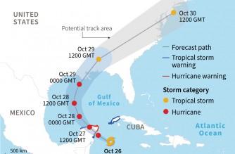 Hurricane Zeta heads for Mexico's Caribbean coast