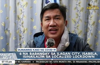 7 more barangays in Ilagan, Isabela placed under localized lockdown