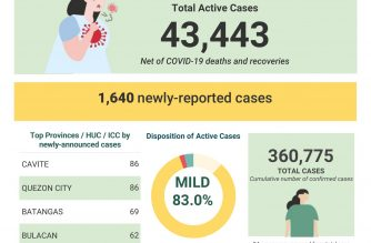 PHL COVID-19 tally reaches 360,775; 369 more recoveries reported