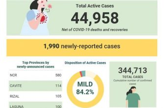COVID-19 cases in PHL reach 344,713; recoveries rise to 293,383