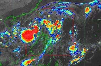 "Signal No. 2 raised over Ilocos Sur, other areas as ""Pepito"" crosses N. Luzon, moves across Lingayen Gulf"