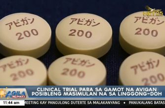 Avigan clinical trial could start within the week, says DOH