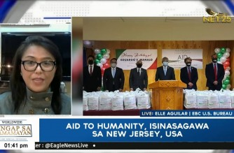 Iglesia Ni Cristo Aid to Humanity starts in New Jersey, USA