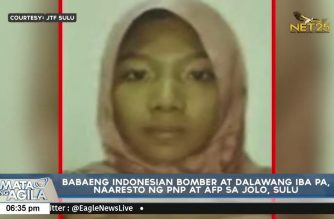Military: Indonesian suicide bomber, 2 others nabbed in Sulu