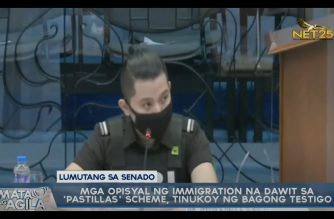 "New BI witness tags ex-deputy commissioner Mariñas as among those behind ""pastillas"" scheme"