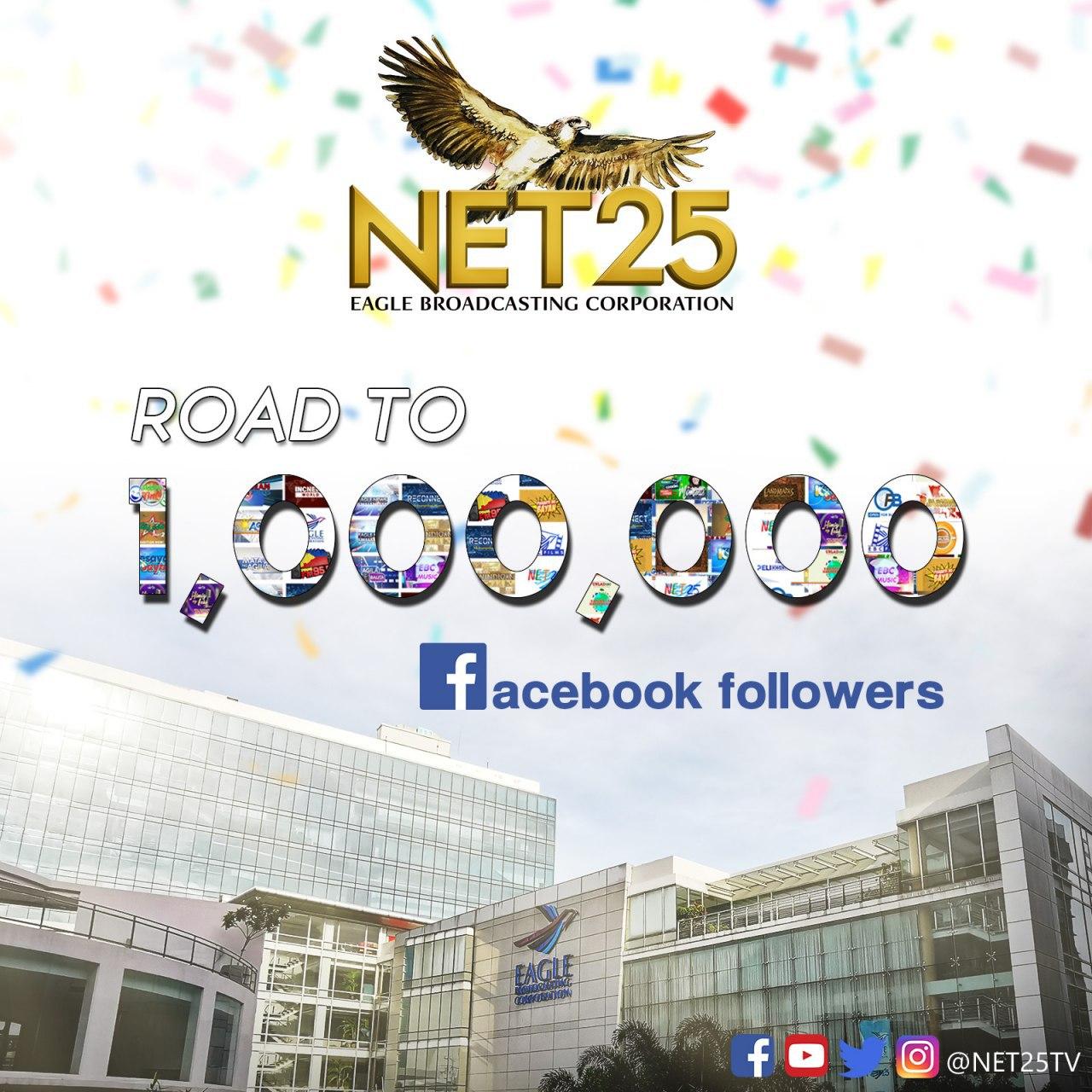 NET25 Facebook