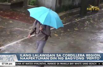 Storm Pepito brings rains to landslide-prone Cordillera provinces