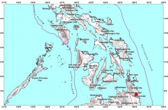 JUST IN: Strong quake hits Surigao del Sur: PHIVOLCS