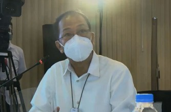 PHL COVID-19 vaccine czar Carlito Galvez Jr., reports to President Rodrigo Duterte developments in the efforts of the country to obtain vaccines against COVID-19 for the Philippines.  (Screengrab from PCOO video/Courtesy PCOO/RTVM)