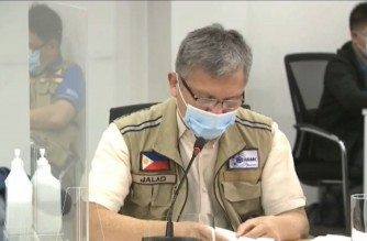 National Disaster Risk Reduction and Management Council Executive Director Undersecretary Ricardo Jalad, who is also the administrator of the Office of the Civil Defense (OCD) says 1t least 10 casualties were reported due to Super Typhoon Rolly in the Bicol region.  (Screengrab of Nov. 2 press briefing aired over PTV 4)