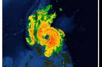 "Typhoon ""Ulysses"" (VAMCO)/ Courtesy PAGASA-DOST"